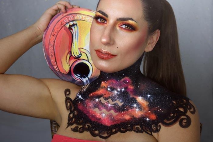 Aries Zodiac Sign Makeup Tutorial by Sarah Murphy