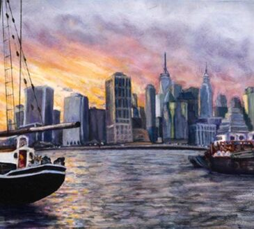 Creative Art oil painting by Jessie Novik