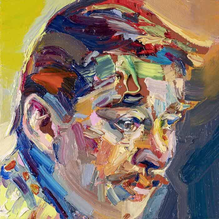 Geoff Farnsworth Painted Portrait