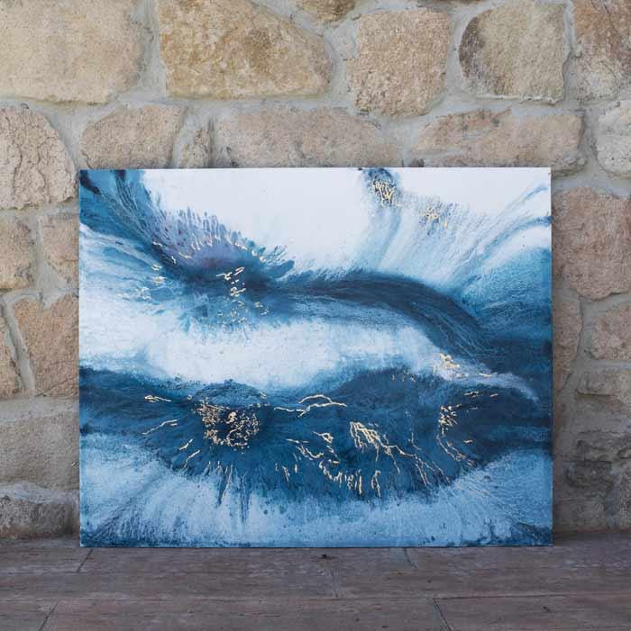 abstract fluid art by Elisa