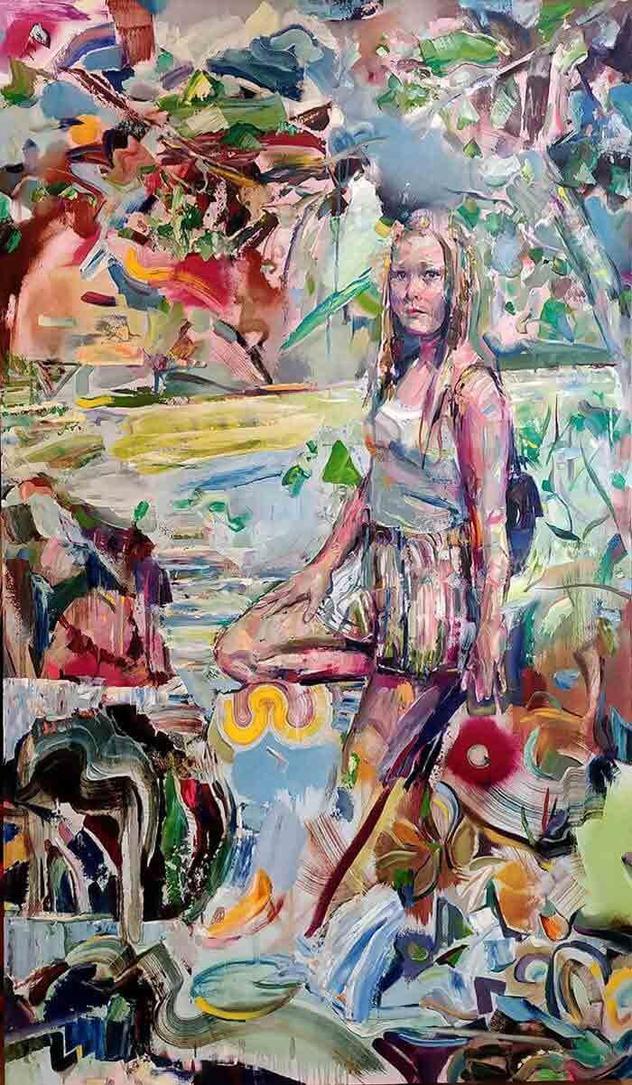 Beautiful painting by Geoff Farnsworth