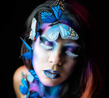 Body painting art by Ana Chapovalov