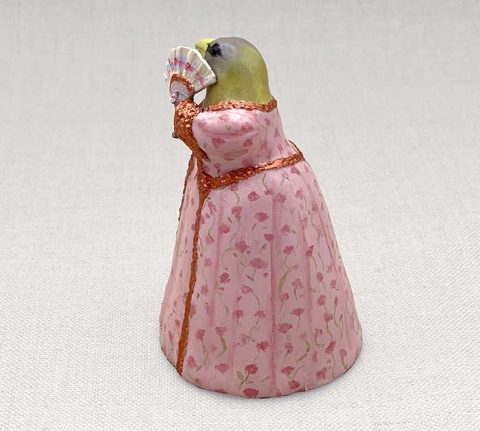 Lady Grosbeak Sealey Sculpture by Leslie Sealey