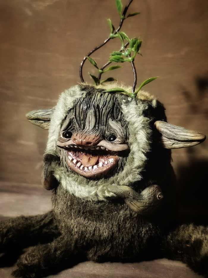 unique fantasy creature by cha-shcha