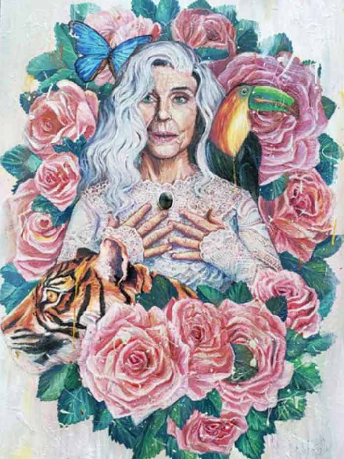 Mother Earth portrait by Andrea Castaneda