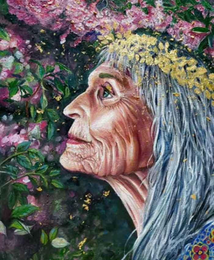 Stunning portrait art by Andrea Castaneda