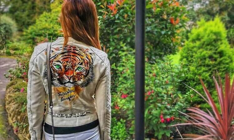 Handpainted Wearable Art by Natasha Durgan