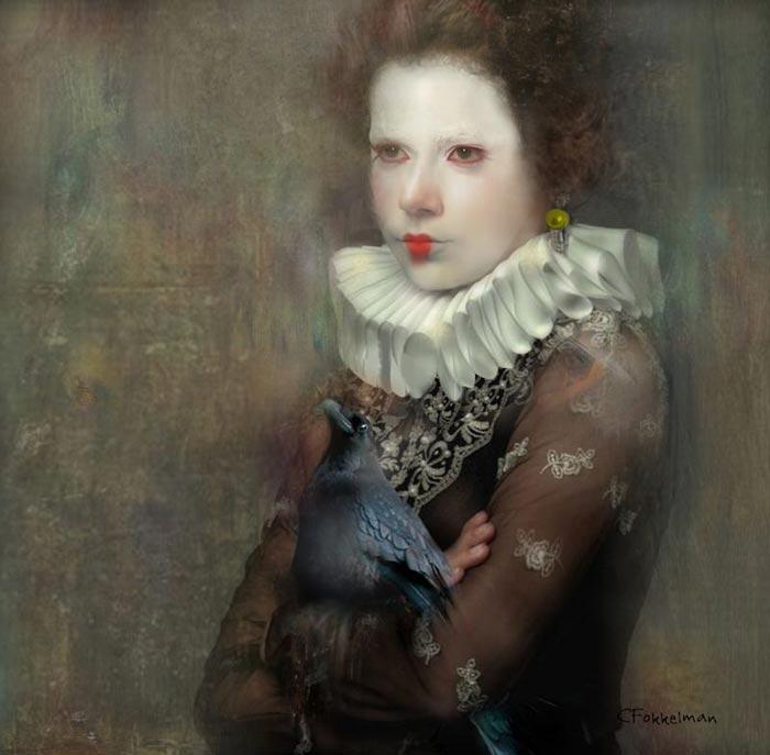 Figurative painting by Christine Fokkelman
