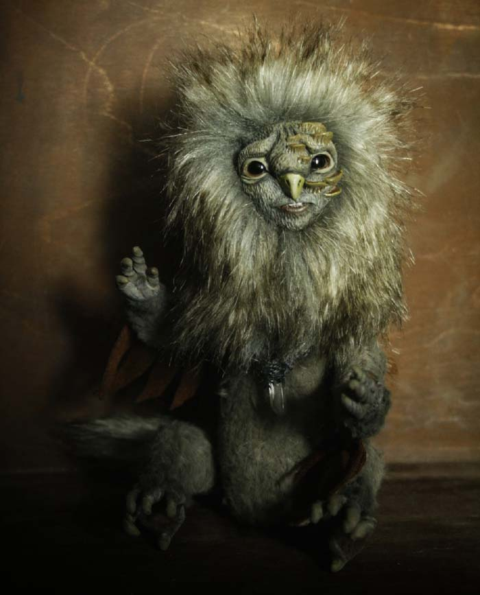fantasy animal sculpture by cha-shcha