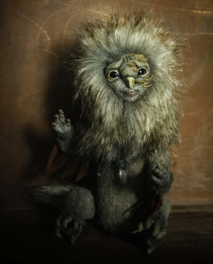 fantasy animal sculpture by cha-shcha