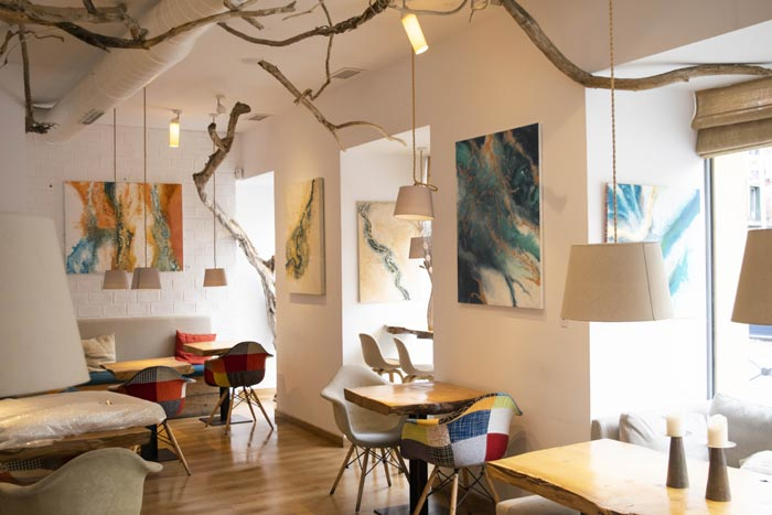 abstract fluid studio by Elisa