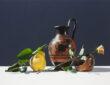 Still life paintings by Riccardo Evangelisti