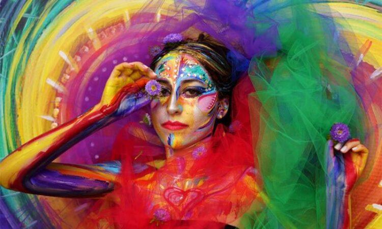 Body Painting Art by Artist Sheryl Benjy