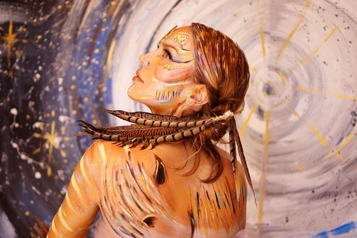 Beauty Body Art by Artist Sheryl Benjy