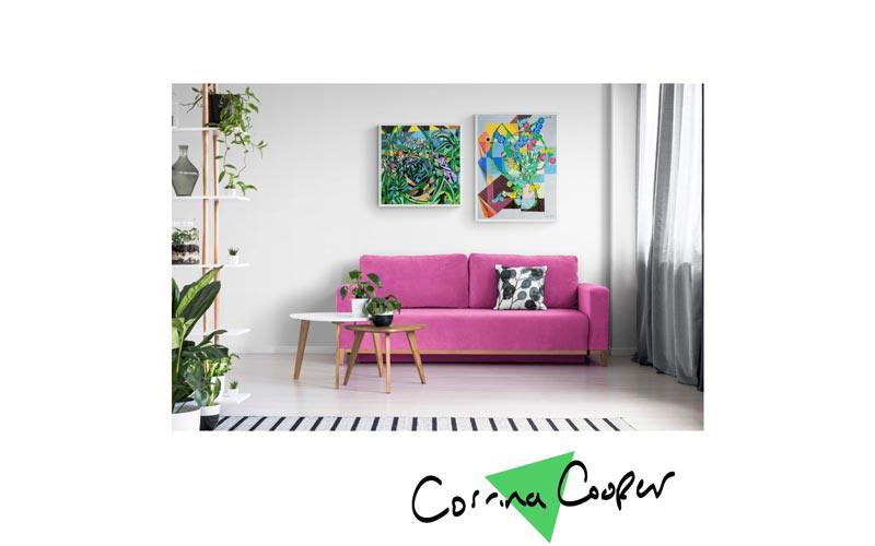 Brilliant acrylic paintings by Corrina Cooper