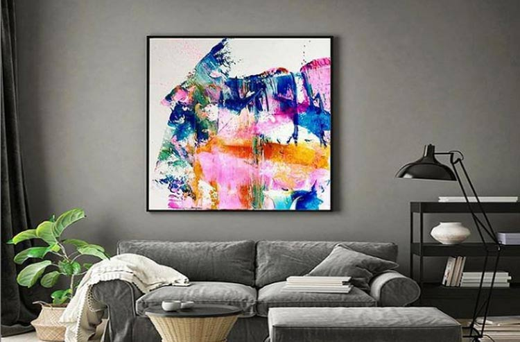 Abstract Artwork by Artist Ishika Guha