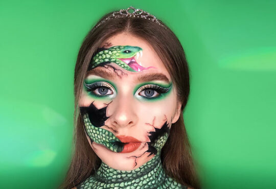 Beautiful Face Painting by Natalia