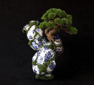 Beautiful bonsai sculptures