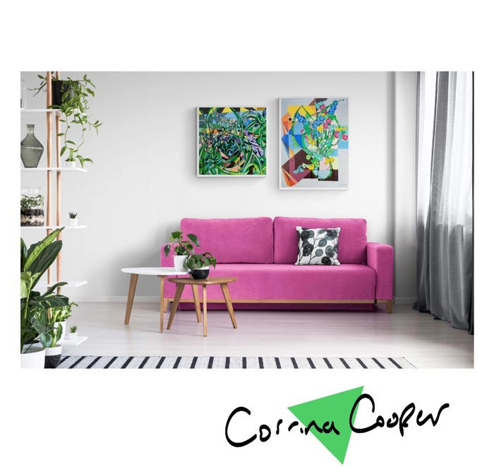 Wall decor painting by Corrina Cooper