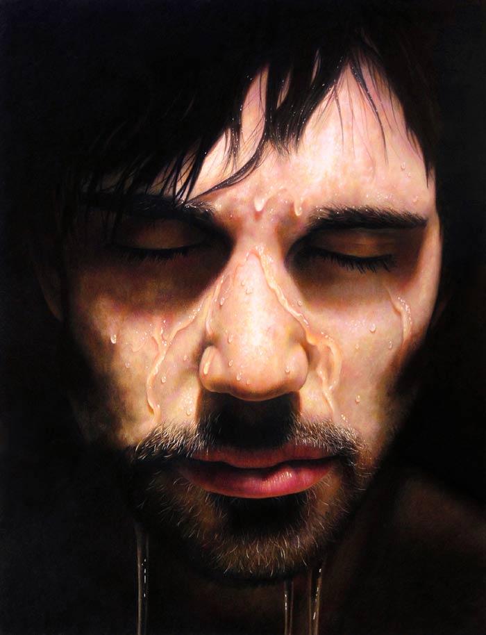 Hyper realism portrait by Jesse Lane