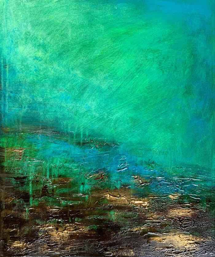 Ebb and flow painting ideas