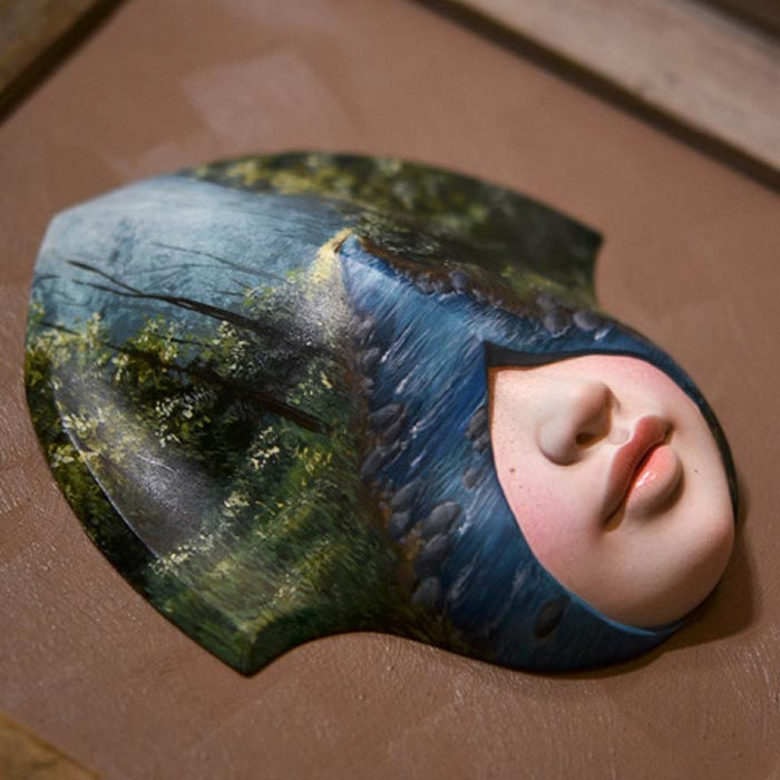 Eye of the Forest doll art by Xhanthi
