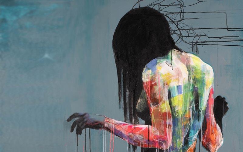Kicki Edgren Explaining art on Trendyartideas