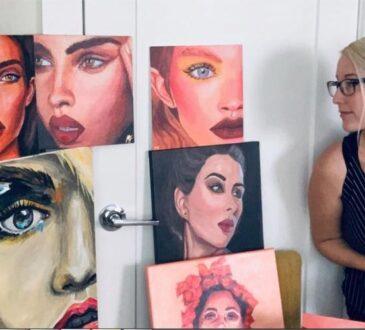 Artist Nora on Trendy art ideas