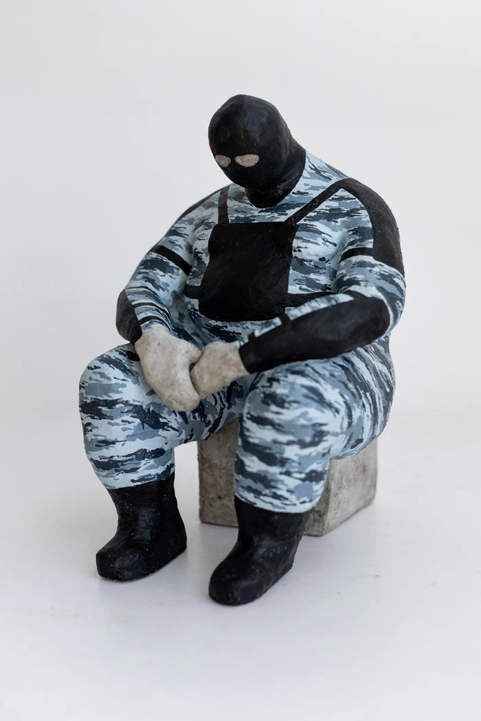 Patriot OM sculpture by Pyotr Zaitsev