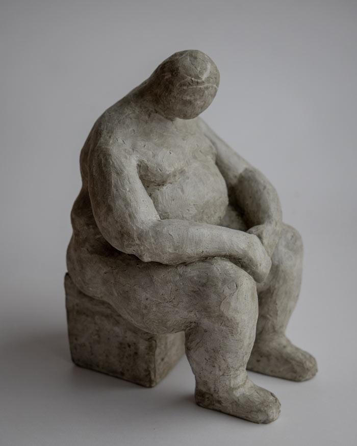 Patriot RAW sculpture by Pyotr Zaitsev