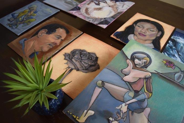 Cynthia Howard's paintings