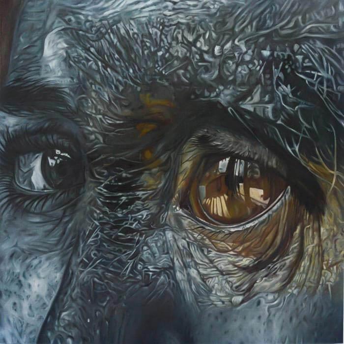 Human-animal hybrid Portrait