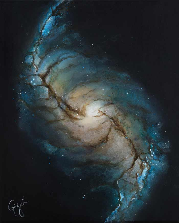 Amazing space art painting