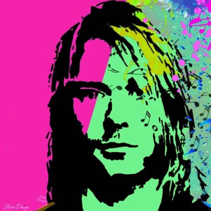 Pop Art Kurt vs Cobain