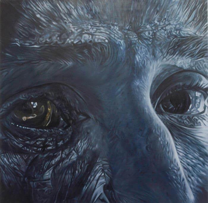 Surrealistic Half Human Half Animal painting