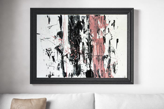Abstract Artwork Hand painted