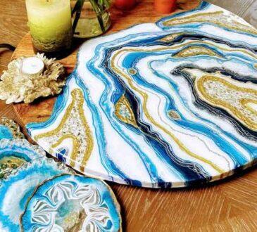 Handmade resin art KunstWork Creations