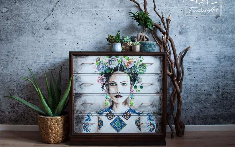 Beautiful hand painted furniture services by Lorisz Gagyi Painter