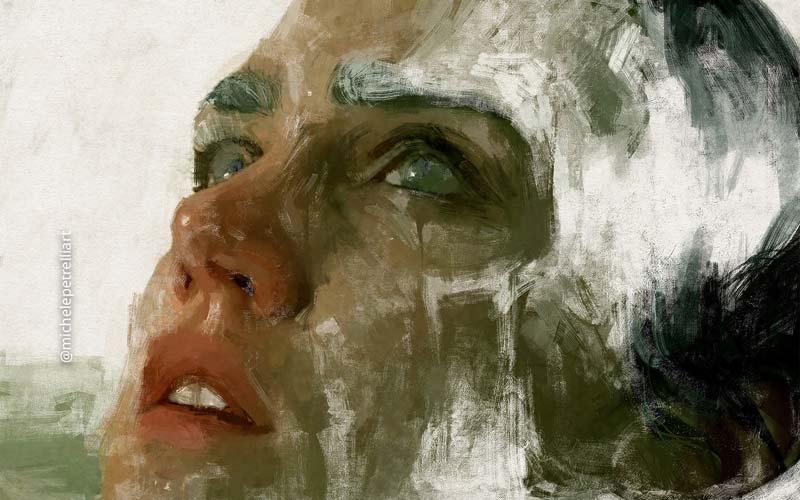 Michele Petrelli figurative paintings by Michele Petrelli