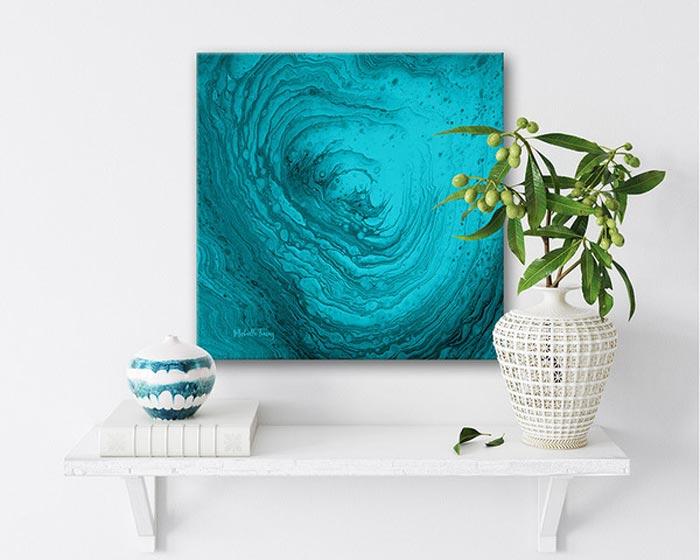 resin art painting