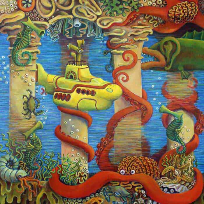 traditional Surrealism by artist Dave Curtis
