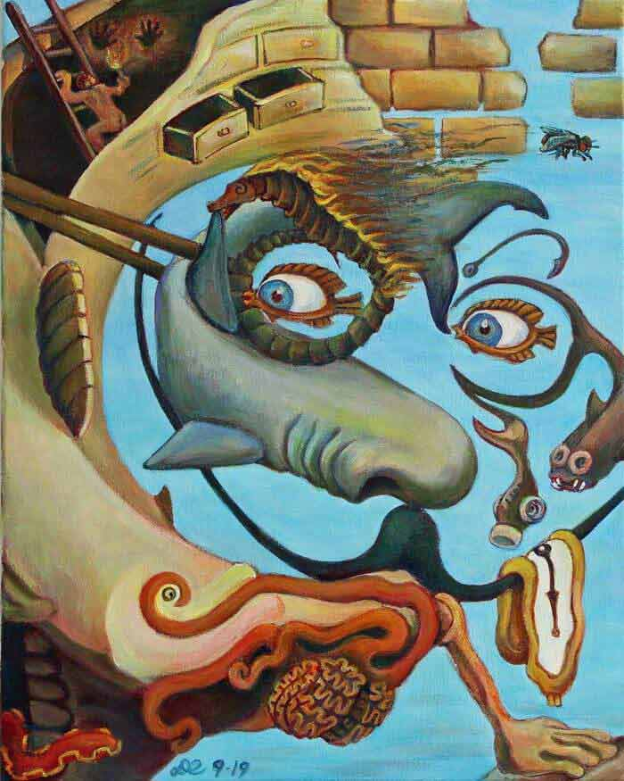 Paintings of surrealist