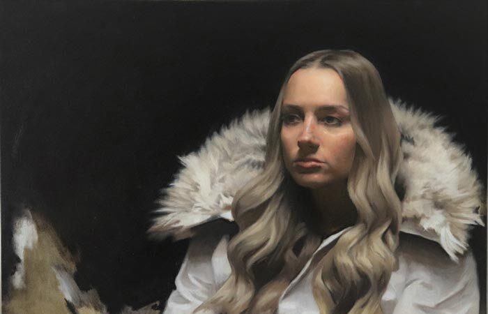 True North Oil on Linen by artist Eric J Drummond
