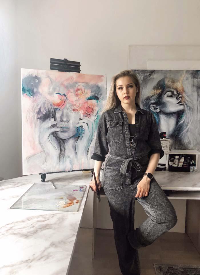 Fine Artist Patricia Ochudlo