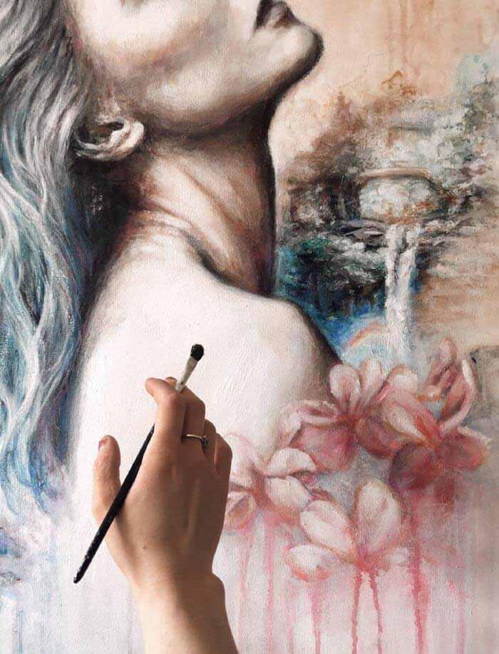 taste of freedom fine art by Patricia Ochudlo