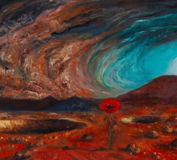 Impressionist oil painter Hafsa Idrees