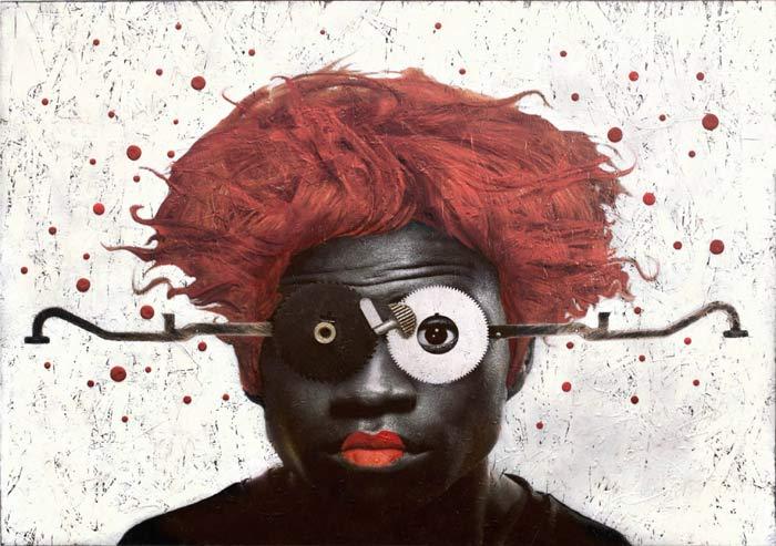 MindsEye IV Mixed media painting by Carol Coates
