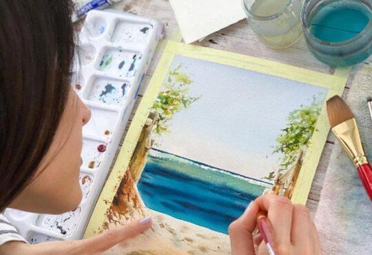 Maria Raczynska Renowned Watercolor Artist