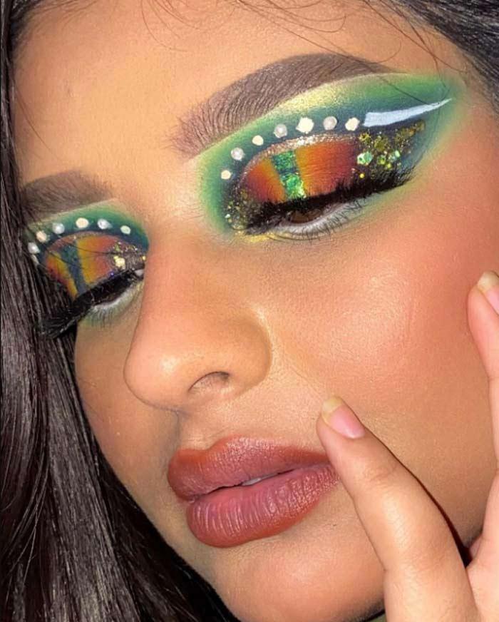 Gorgeous Eye Makeup art by Annie sachdevaa