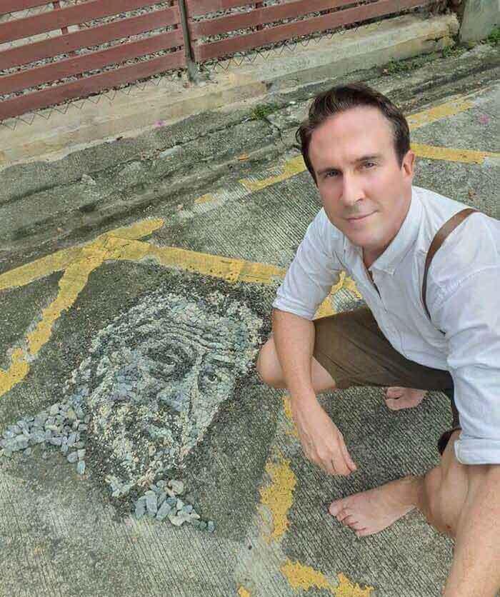 Justin Bateman Land Artist